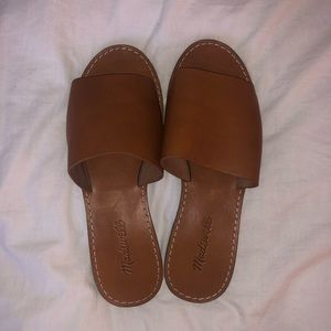 Madewell Shoes - MADEWELL - The Boardwalk Sandal - Brown